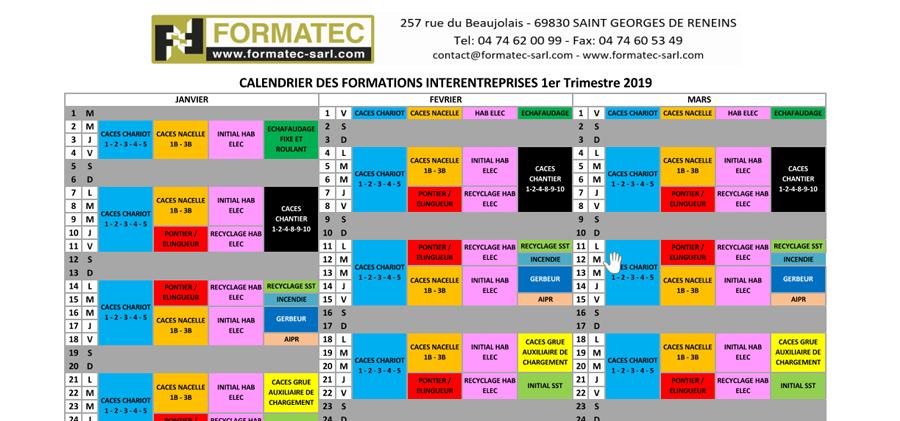 Formations CACES 2019 - Villefranche et Lyon